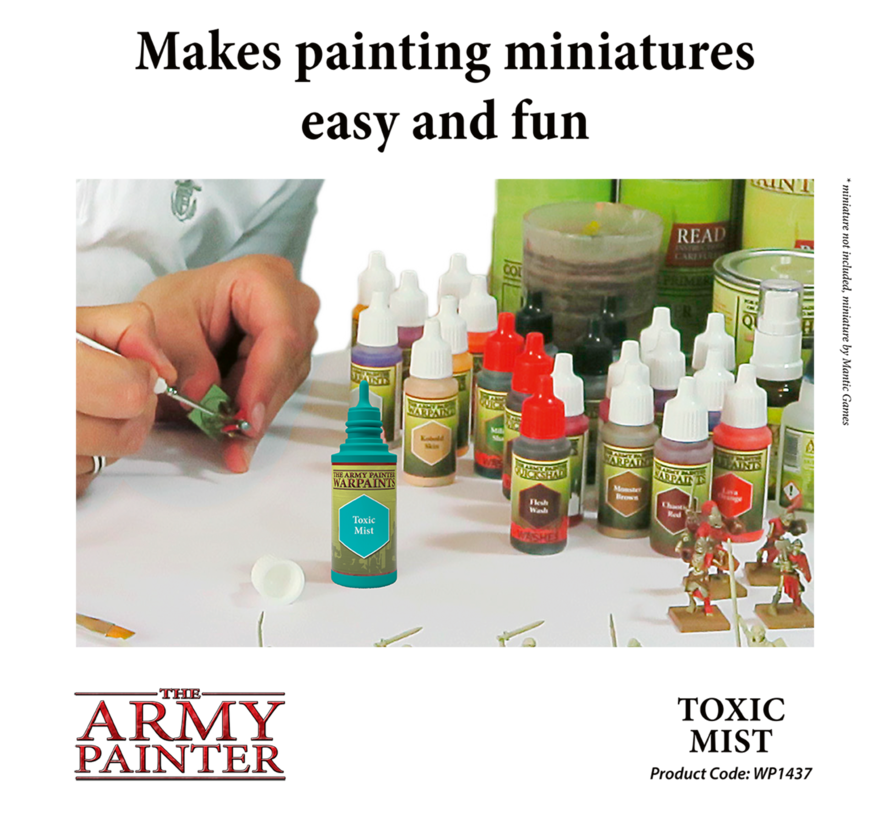 The Army Painter Toxic Mist - Warpaint - 18ml - WP1437