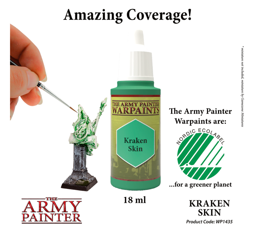 The Army Painter Kraken Skin - Warpaint - 18ml - WP1435