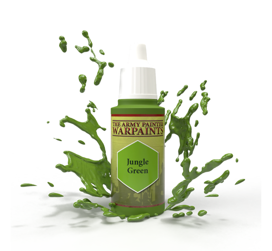 The Army Painter Jungle Green - Warpaint - 18ml - WP1433