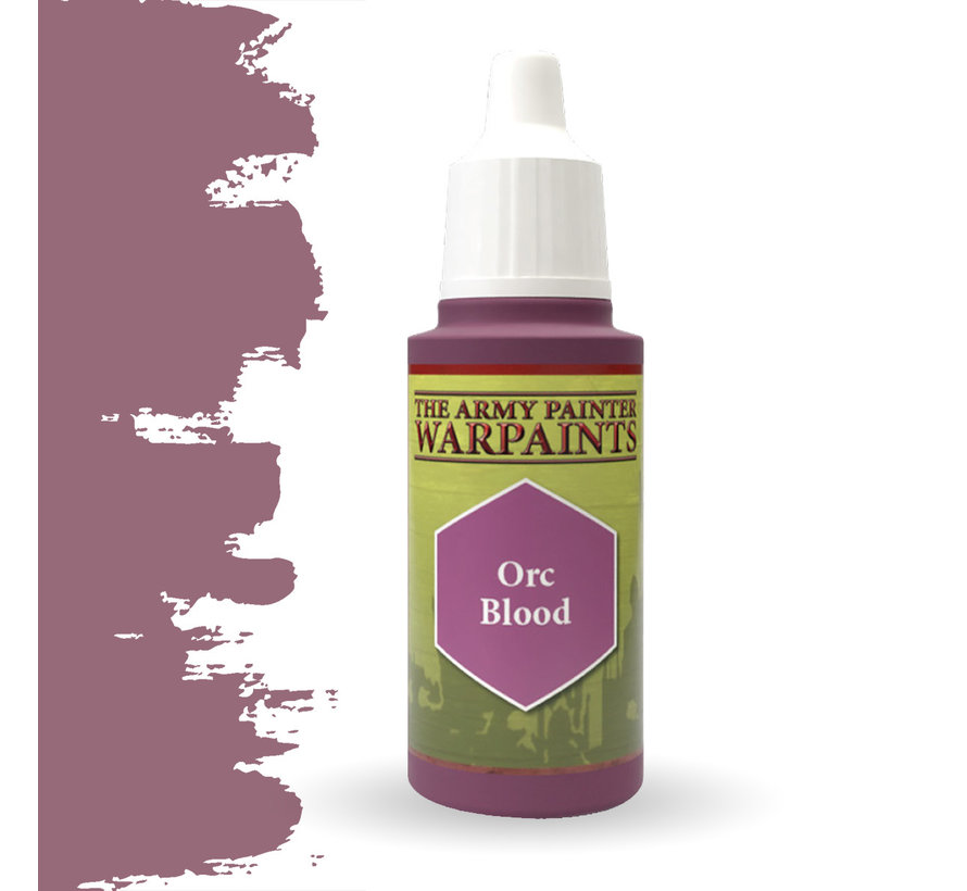 The Army Painter Orc Blood - Warpaint - 18ml - WP1422
