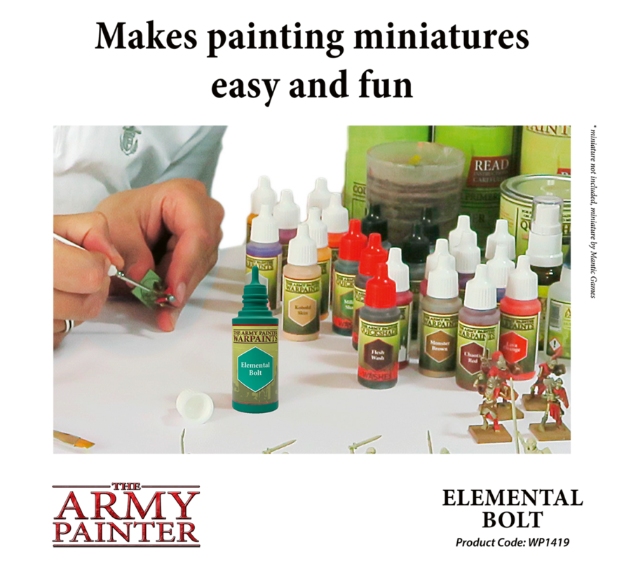 The Army Painter Elemental Bolt - Warpaint - 18ml - WP1419