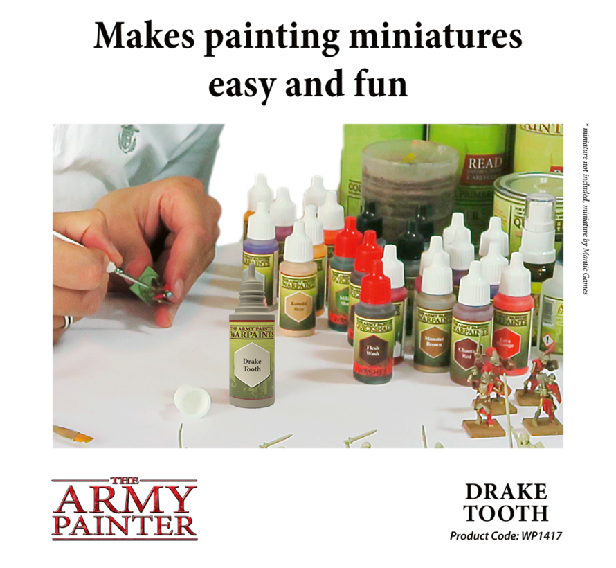 The Army Painter Drake Tooth - Warpaint - 18ml - WP1417