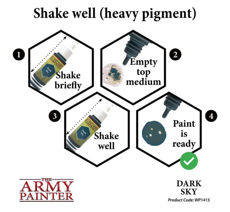 The Army Painter Dark Sky - Warpaint - 18ml - WP1415