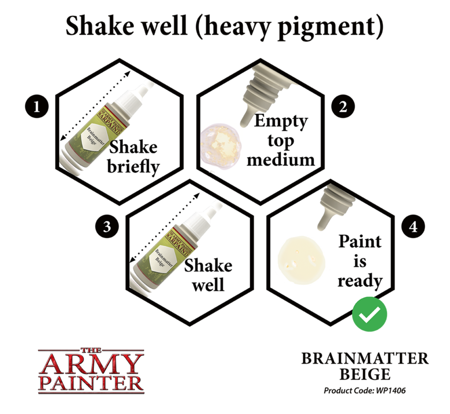 The Army Painter Brainmatter Beige - Warpaint - 18ml - WP1406
