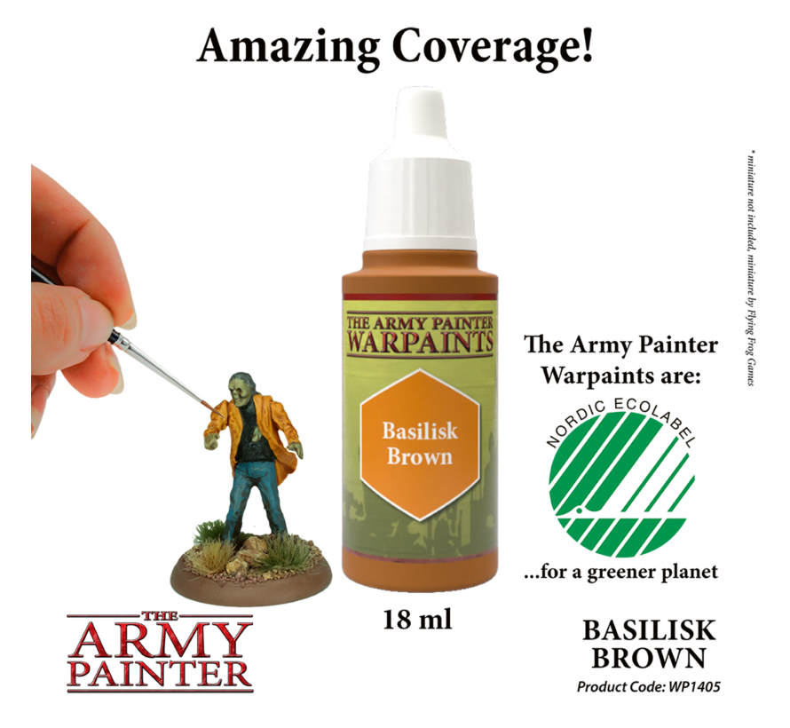 The Army Painter Basilisk Brown - Warpaint - 18ml - WP1405