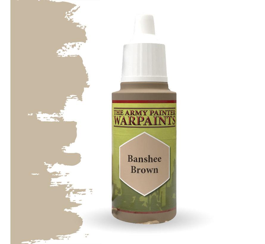 The Army Painter Banshee Brown - Warpaint - 18ml - WP1404