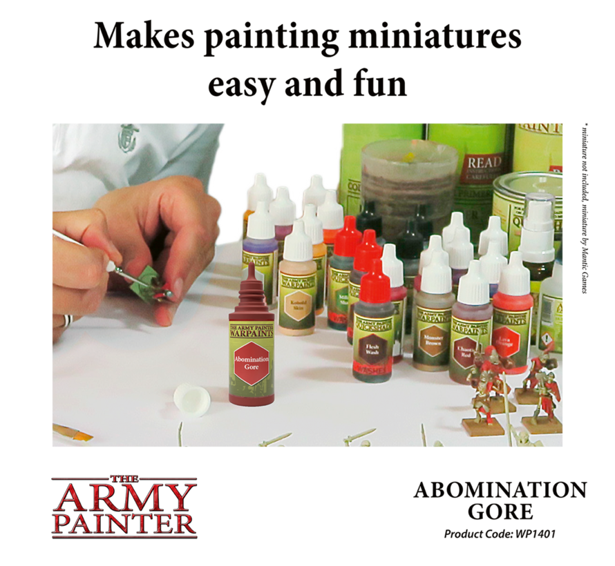 The Army Painter Abomination Gore - Warpaint - 18ml - WP1401