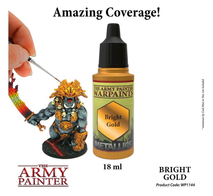 The Army Painter Bright Gold - Warpaint - 18ml - WP1144