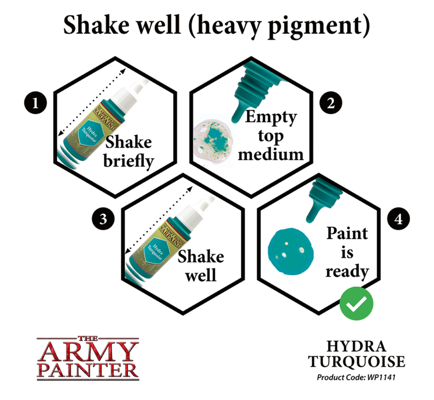 The Army Painter Hydra Turquoise - Warpaint - 18ml - WP1141