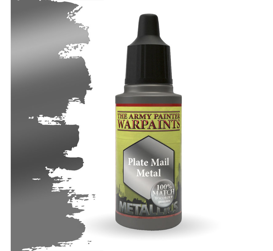 The Army Painter Plate Mail Metal - Warpaint - 18ml - WP1130