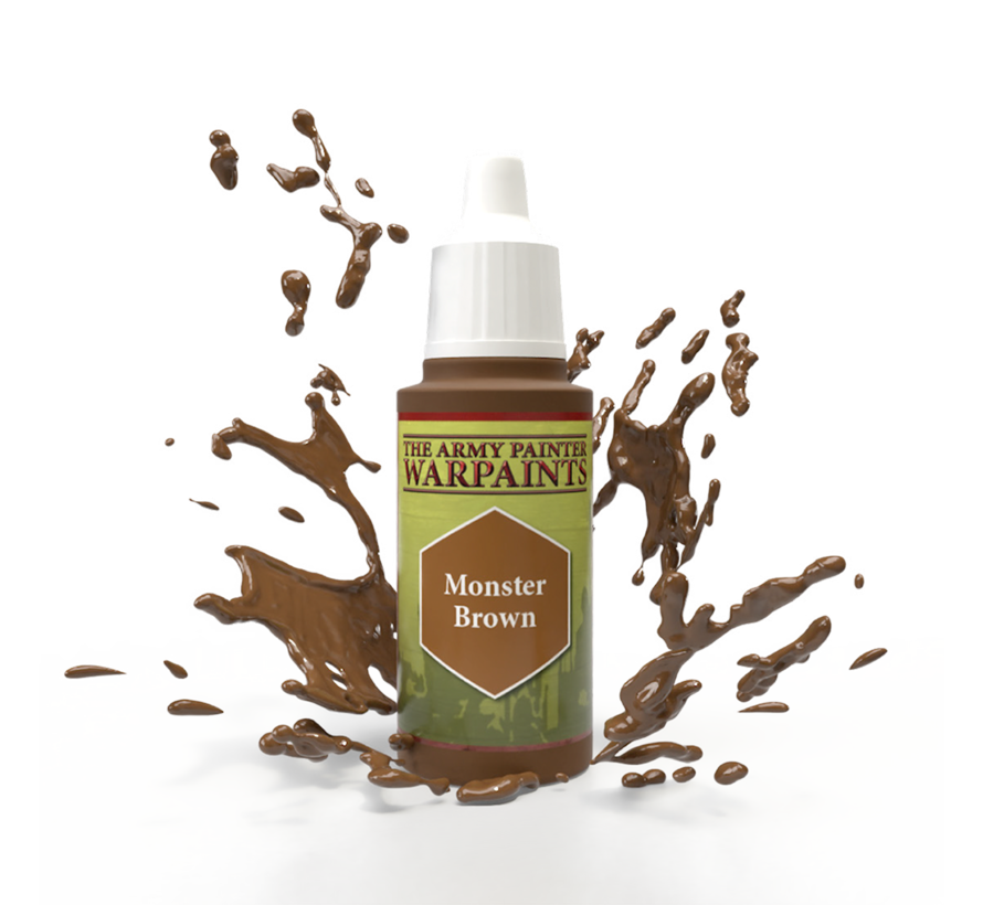 The Army Painter Monster Brown - Warpaint - 18ml - WP1120