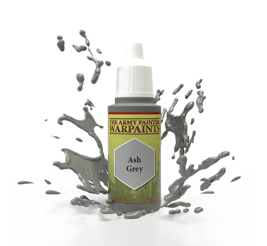 The Army Painter Ash Grey - Warpaint - 18ml - WP1117