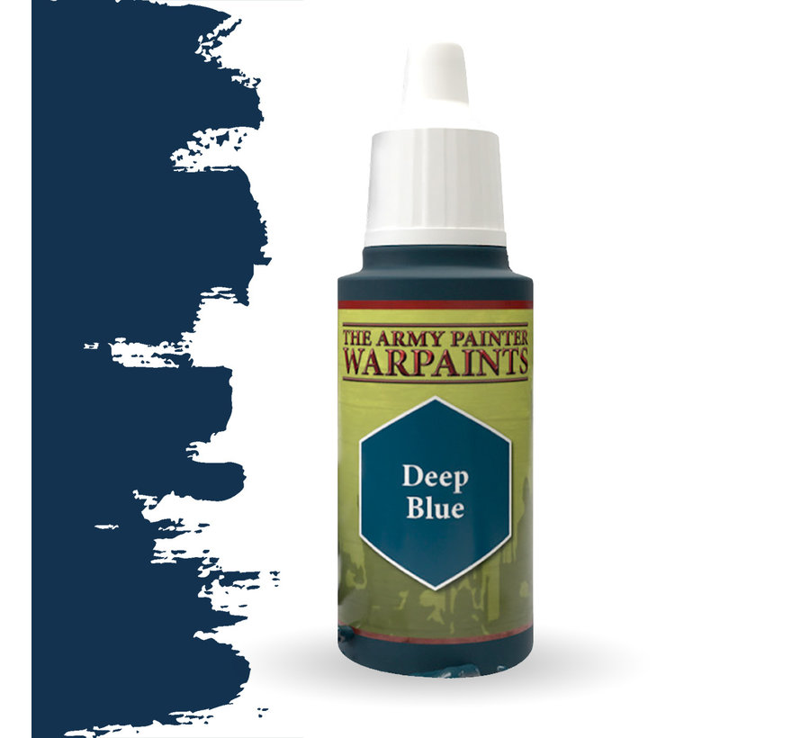 The Army Painter Deep Blue - Warpaint - 18ml - WP1116