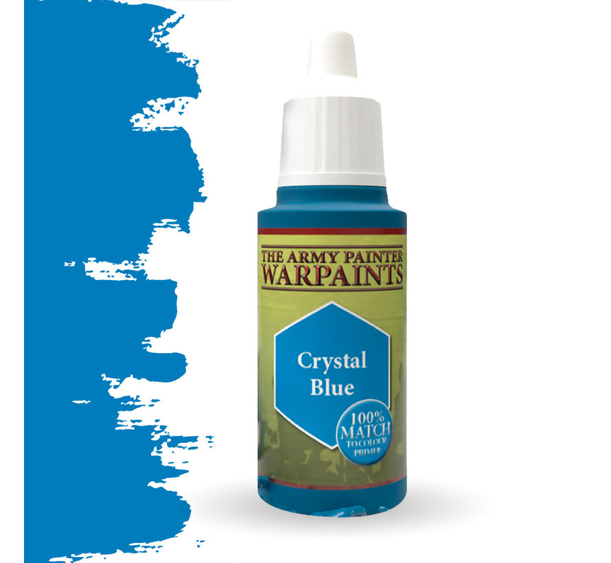 The Army Painter Crystal Blue - Warpaint - 18ml - WP1114