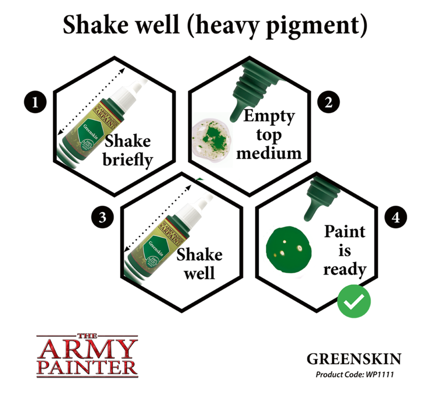 The Army Painter Greenskin - Warpaint - 18ml - WP1111
