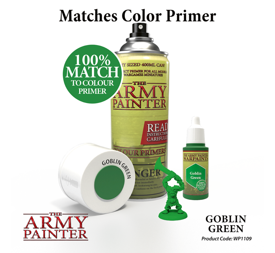 The Army Painter Goblin Green - Warpaint - 18ml - WP1109