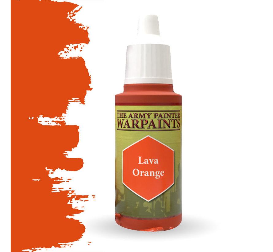 The Army Painter Lava Orange - Warpaint - 18ml - WP1106