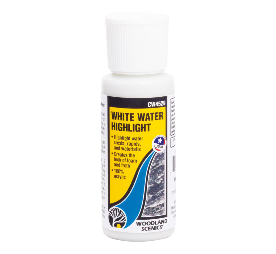 Woodland Scenics White Water Highlight Water Tint - 59 ml - CW4529