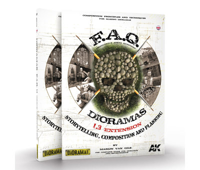 AK interactive AK interactieve Dioramas F.A.Q. 1.3 Extension – Storytelling, Composition & Planning - Engels - 240pag - AK8150