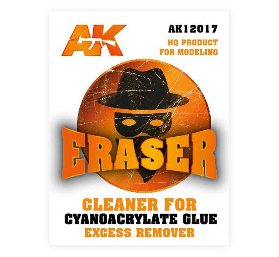 AK interactive Eraser - Cleaner for Cyanoacrylate glue - AK12017