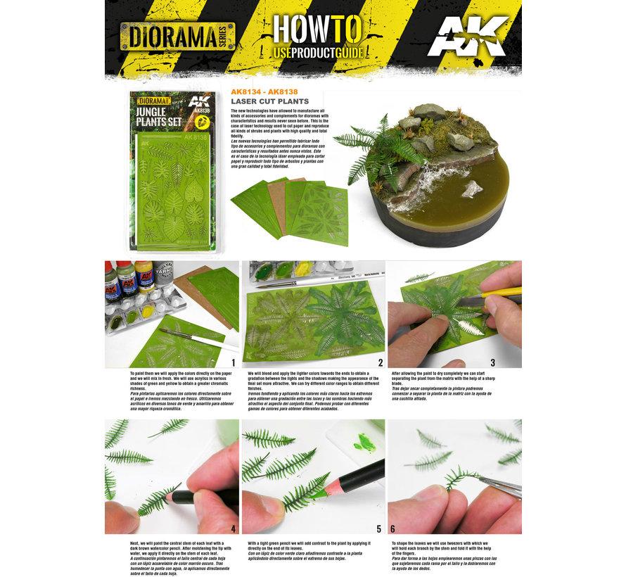 AK interactive Klimop - Lasercut - AK8137
