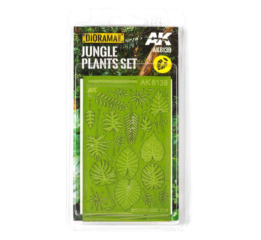 AK interactive Jungle planten - Lasercut - AK8138