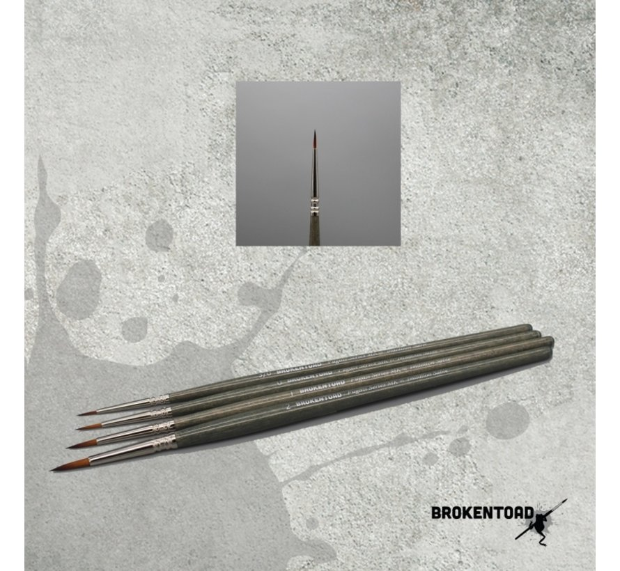 Brokentoad MK3 Fugazi Series 3/0 brush - BT-MSB017