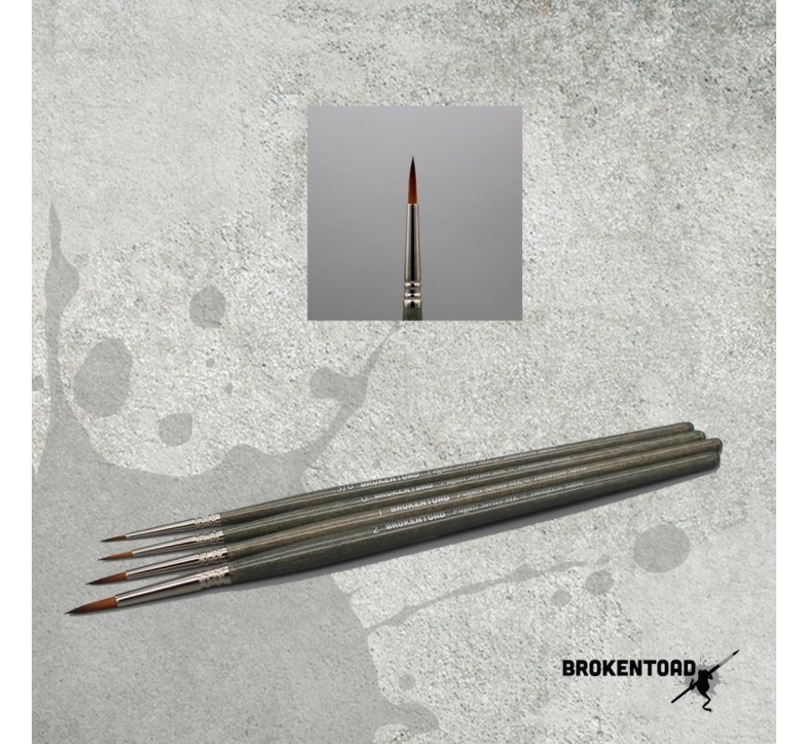 Brokentoad MK3 Fugazi Series 2 brush - BT-MSB014