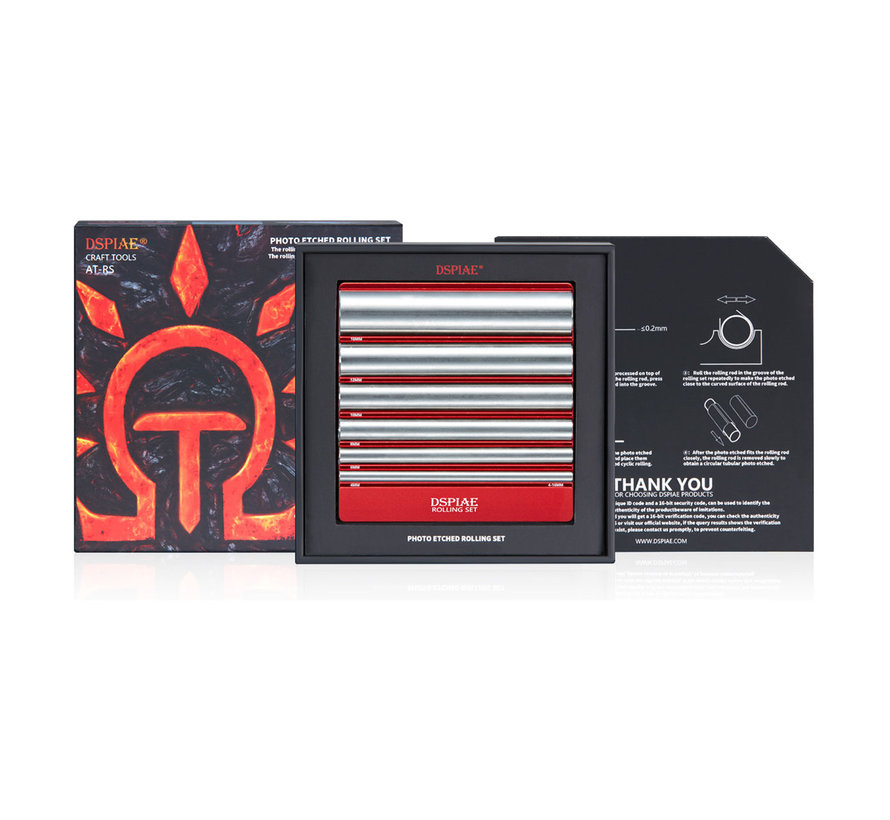 DSPIAE Photo Etch Rolling Set - AT-RS
