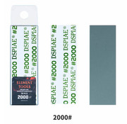 DSPIAE Adhesive Sandpaper 2000 grit strips - 75x25mm - 30x - WSP-2000