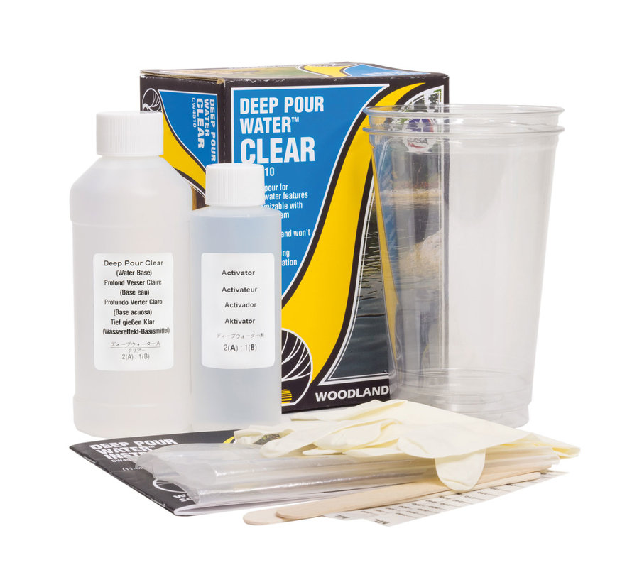 Woodland Scenics Clear Deep Pour Water - 354ml - CW4510