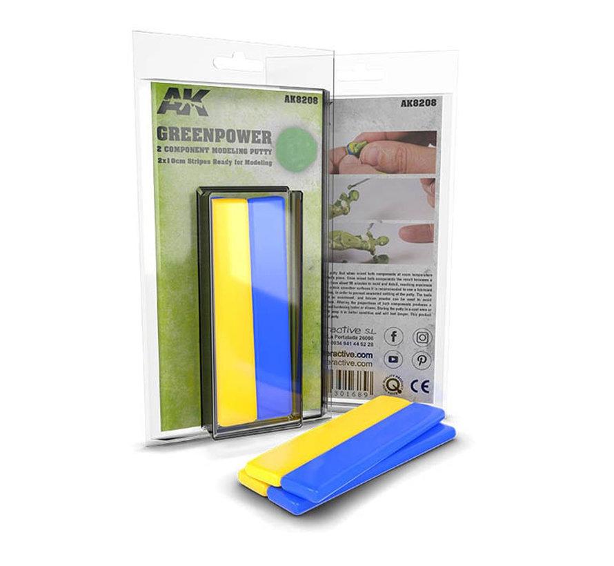AK interactieve Greenpower (Greenstuff) - 20cm - AK8208