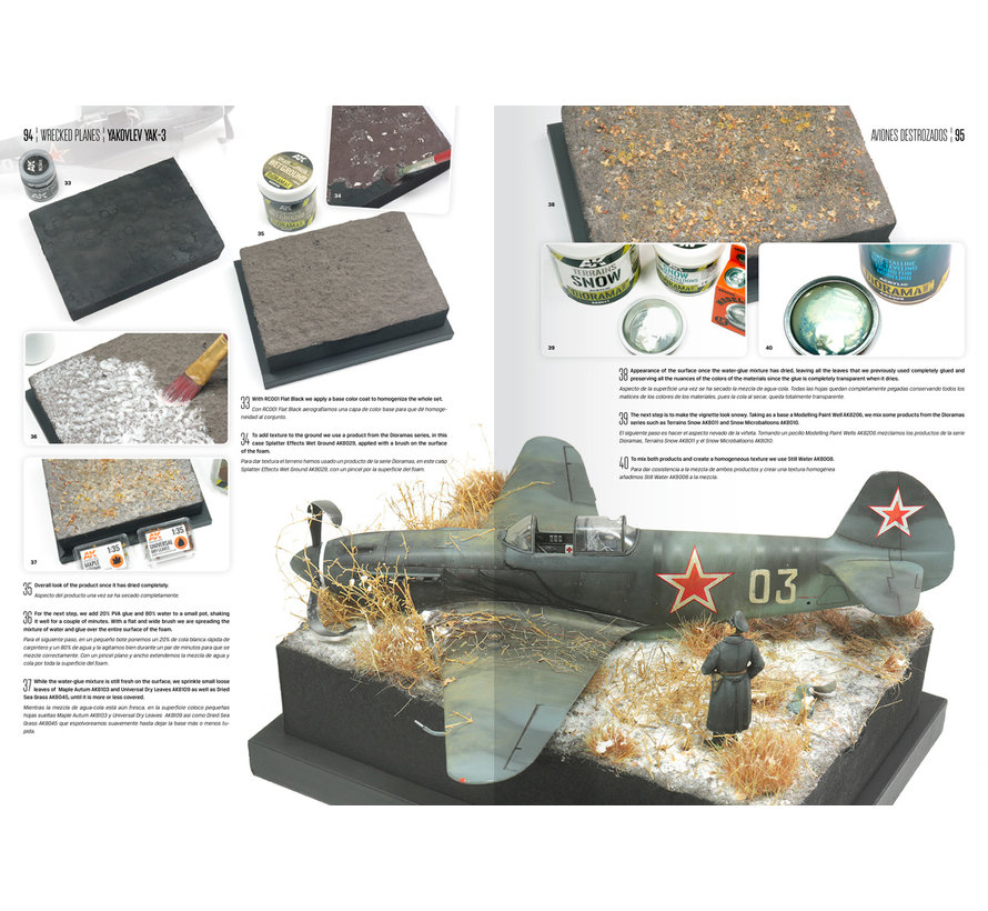 AK interactive Wrecked Planes - Engels/Spaans - 146pag - AK918