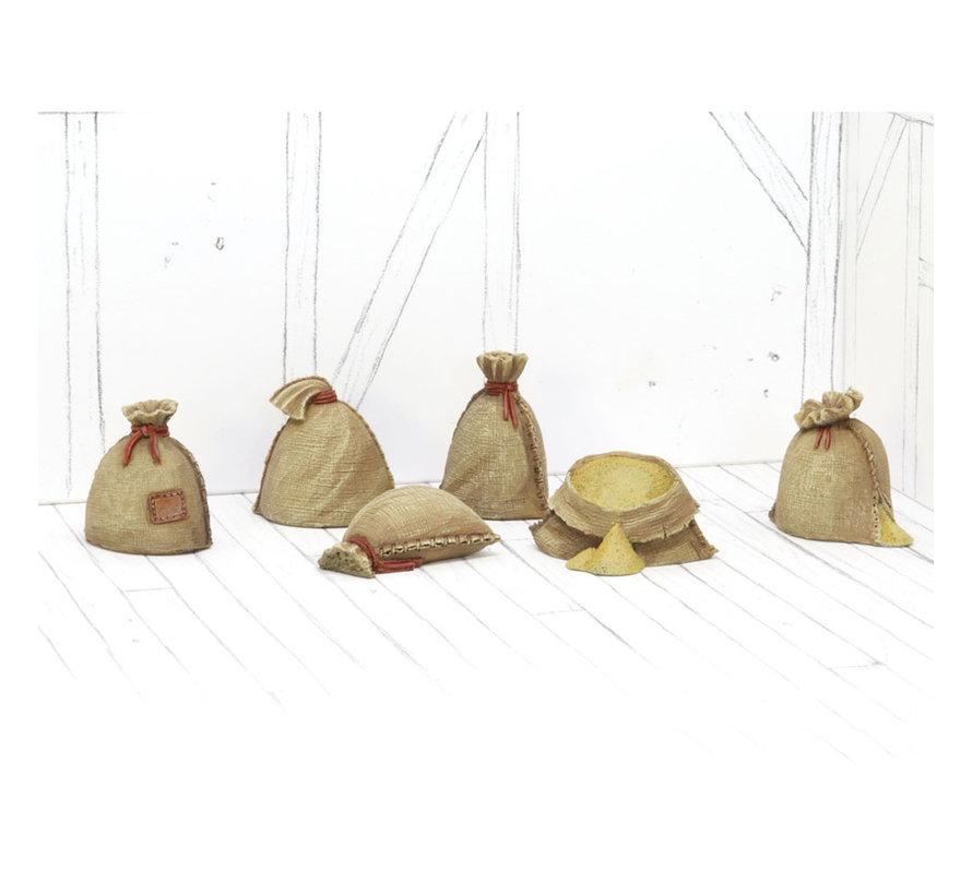 Tabletop-Art Corn Sacks Set 1 - 6x - TTA601084