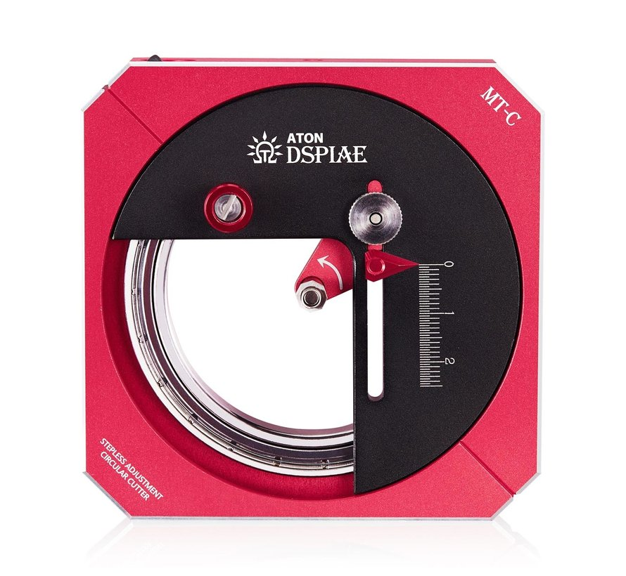 DSPIAE Stepless Adjustment Circular Cutter Deluxe - MT-C