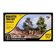 """Woodland Scenics Tree Kits 3""""-7"""" - 6x - WLS-TR1112"""