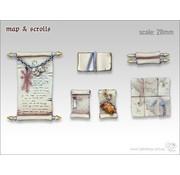 Tabletop-Art Map & Scrolls - TTA600026