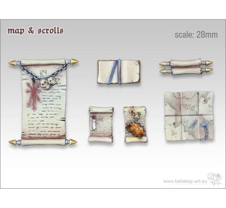 Map & Scrolls - TTA600026