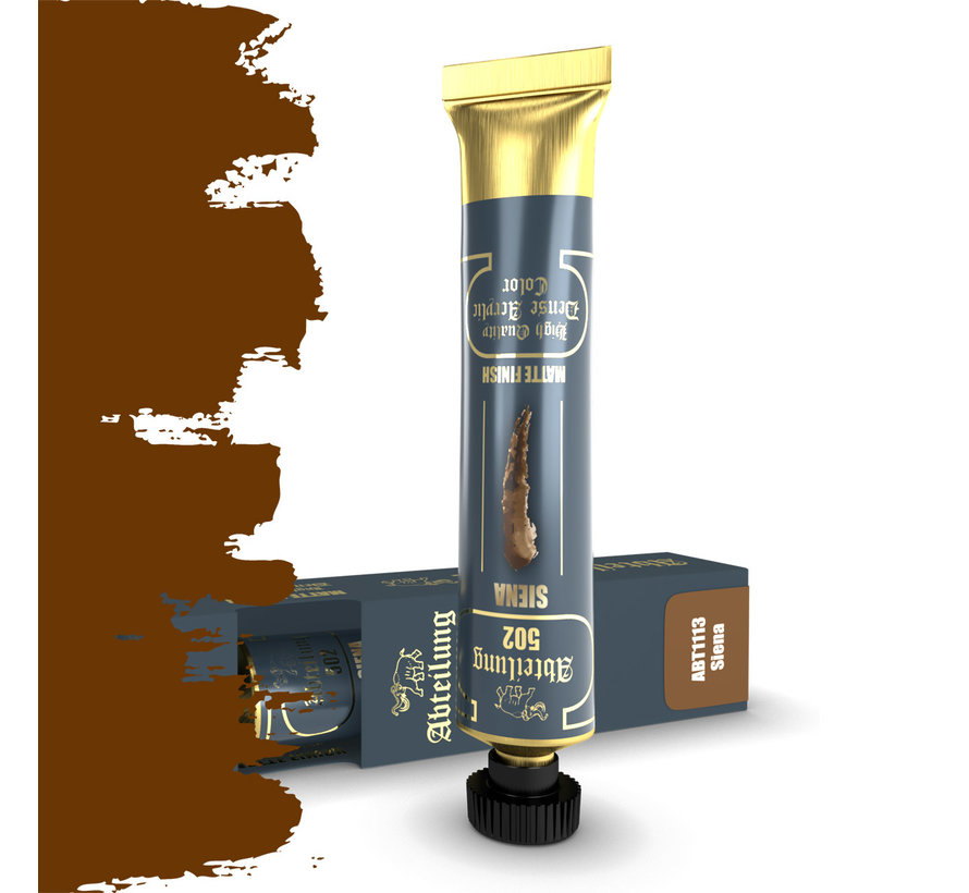 Abteilung 502 Siena High Quality Dense Acrylics Colors - 20ml - ABT1113