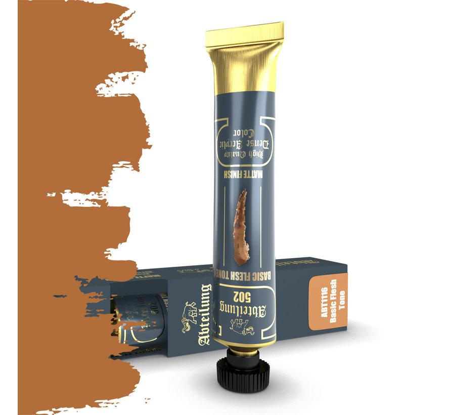 Abteilung 502 Basic Flesh Tone High Quality Dense Acrylics Colors - 20ml - ABT1116