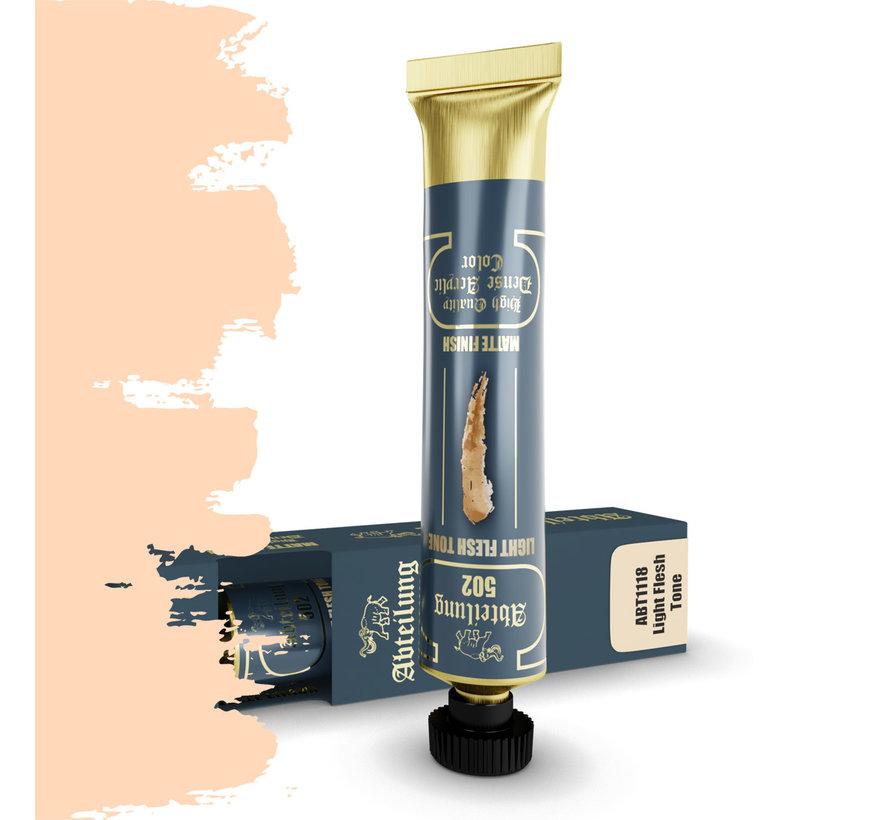 Abteilung 502 Light Flesh Tone High Quality Dense Acrylics Colors - 20ml - ABT1118