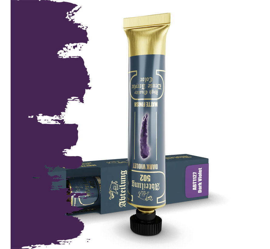 Abteilung 502 Dark Violet High Quality Dense Acrylics Colors - 20ml - ABT1127
