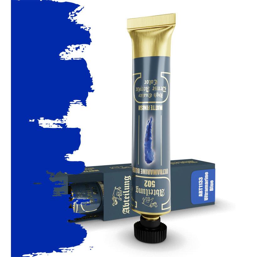 Abteilung 502 Ultramarine Blue High Quality Dense Acrylics Colors - 20ml - ABT1133