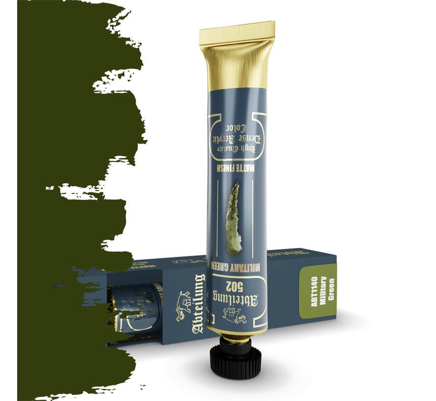 Abteilung 502 Military Green High Quality Dense Acrylics Colors - 20ml - ABT1140