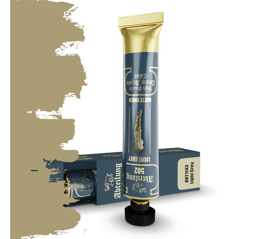 Abteilung 502 Light Grey High Quality Dense Acrylics Colors - 20ml - ABT1143