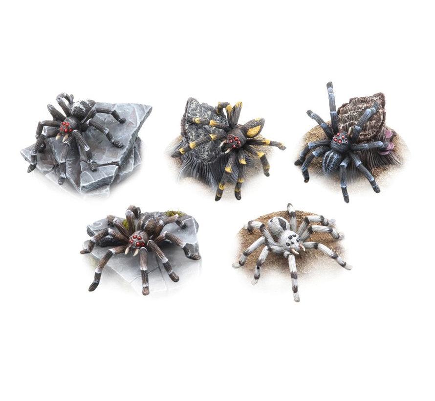 Tabletop-Art Giant Spiders Set - 5x - TTA200253