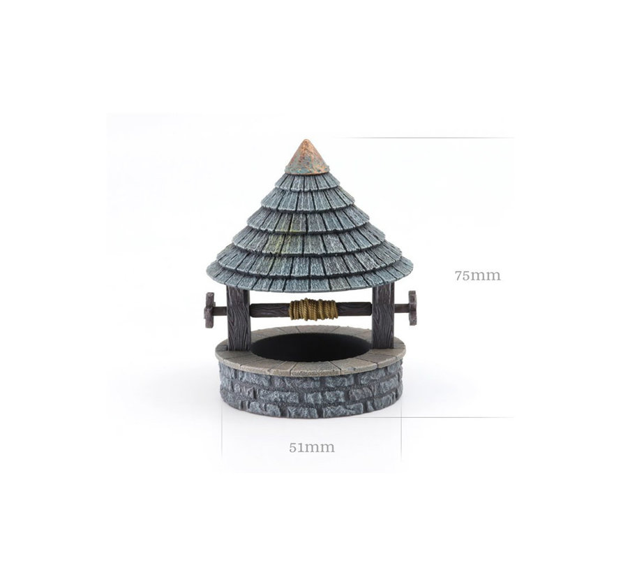Tabletop-Art Covered well - 1x - TTA800031