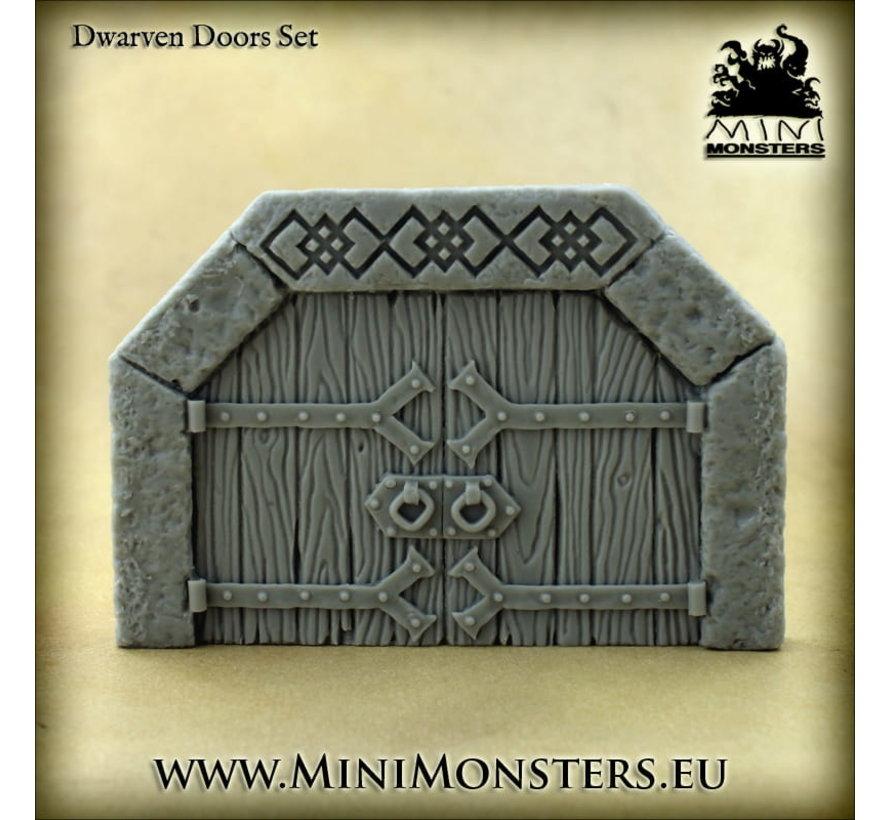 Mini Monsters Dwarven Doors Set 2 - 1x - MM-0110