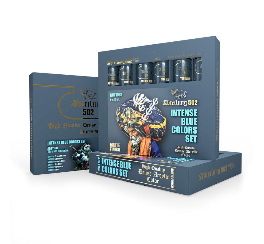 Abteilung 502 Intense Blue Colors Set - 6 kleuren - 20ml - ABT1168