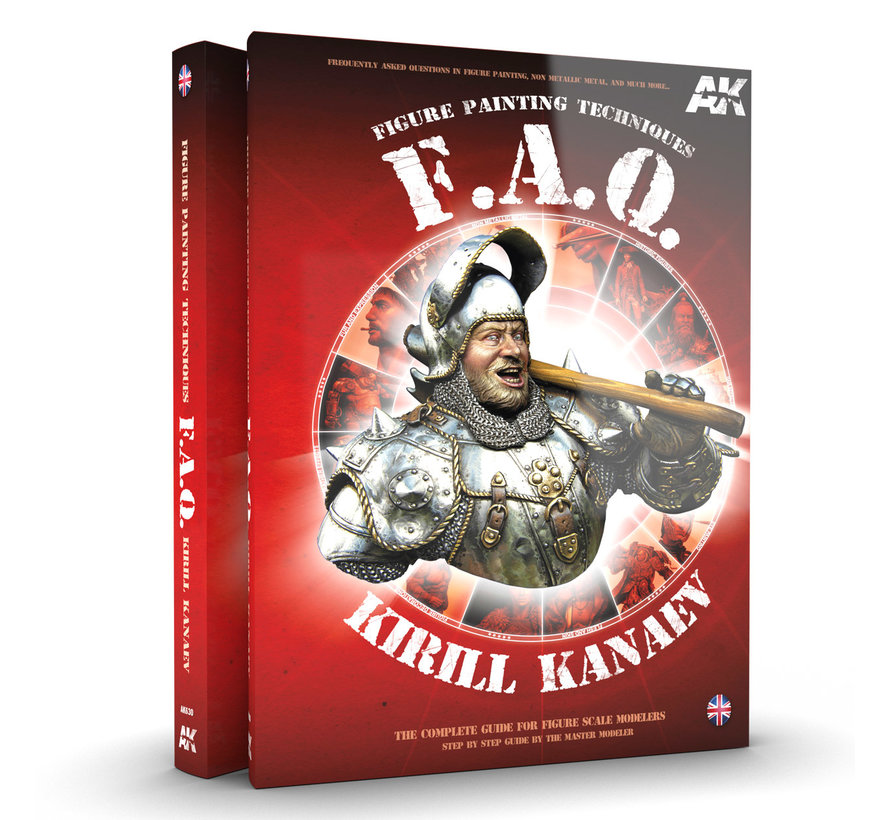 AK interactive Scale Figures F.A.Q. - Engels - 488pag - AK630